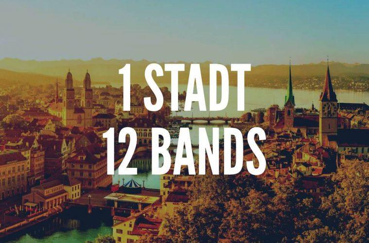 1 Stadt, 12 Bands